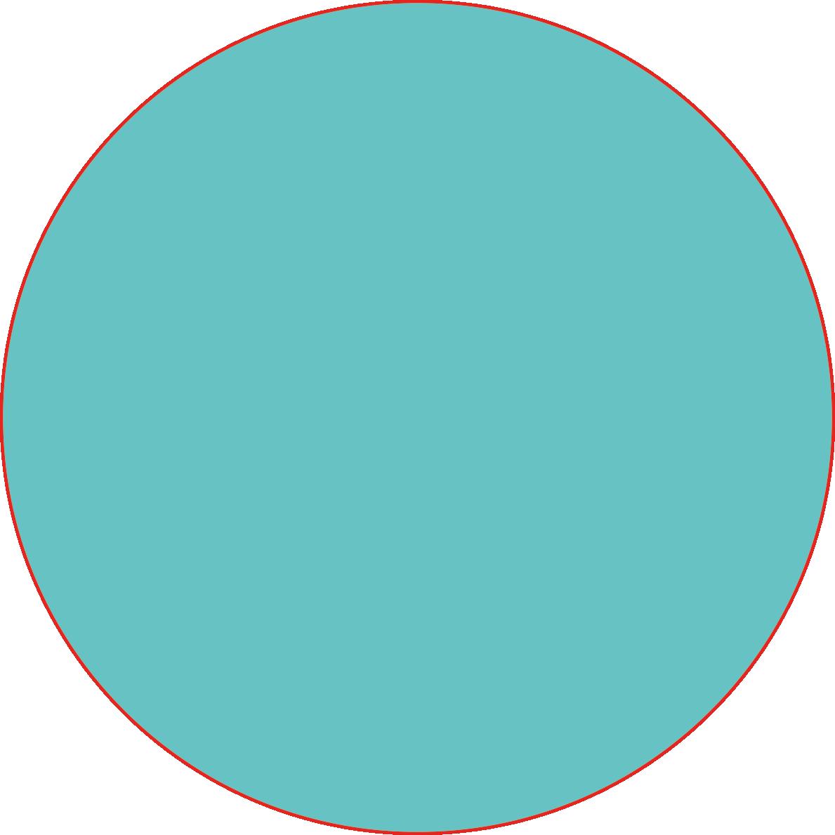 cyan circle